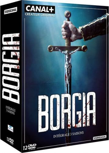 Coffret dvd Borgia Saisons 1 à 3