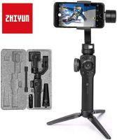 Zhiyun Smooth 4 Perche avec Stabilisateur motorisé 3 axes pour Smartphone Noir