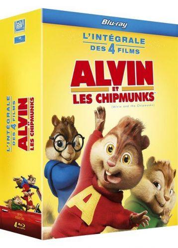Coffret Alvin et les Chipmunks Blu Ray