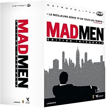 Coffret dvd Mad men saisons 1 à 7