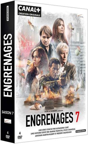 Coffret DVD Engrenages saison 7