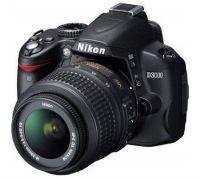 APN reflex Nikon D3000 avec objectif 18-55mm