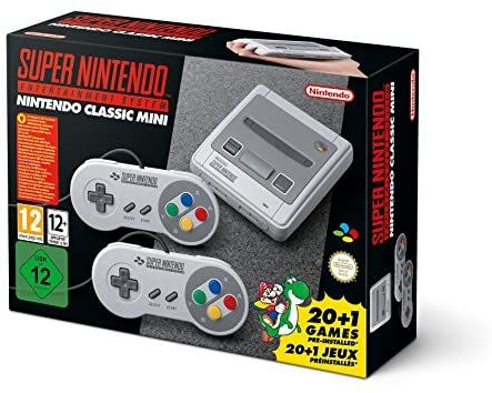 Console de jeu Nintendo SNES Mini