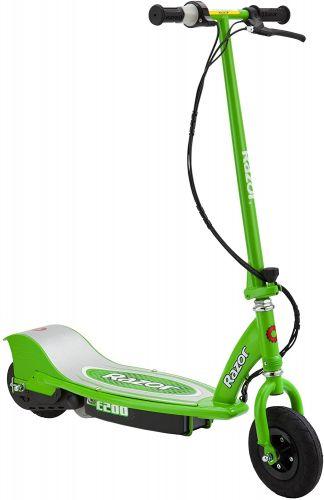 Trottinette électrique Razor E200 verte
