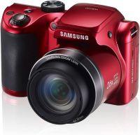 Samsung WB100 rouge et noir