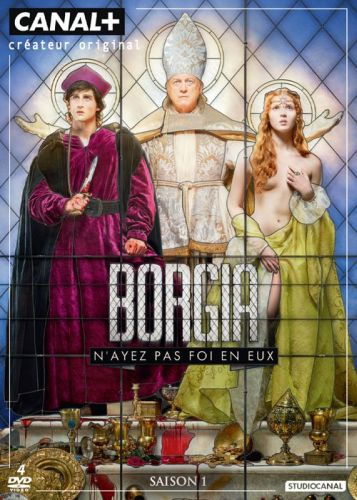 Coffret dvd Borgia saison 1